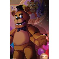 "Trends International Five Nights at Freddy's Pizzeria Art Wall Poster 22.375"" x 34"""