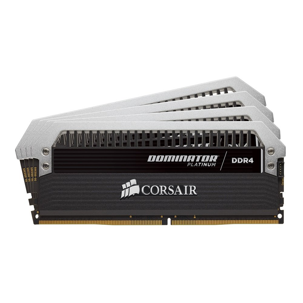 Corsair Dominator Platinum Series 32gb [4 X 8gb] Ddr4 Dram 2666mhz C15 Memory Kit - 32 Gb [4 X 8 Gb] - Ddr4 Sdram - 2666 Mhz Ddr4-2666/pc4-21300 - 1.20 V - Non-ecc - Unbuffered - (cmd32gx4m4a2666c15)