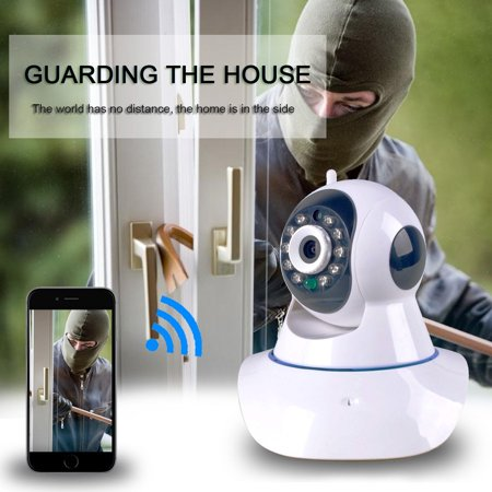 Wireless Security 720P Hd Wi Fi Wireless Network Video Monitoring Security Ip Camera Home Security Video Recording Easy Remote Access Via Pc   Smartphone