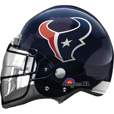 Anagram International Houston Texans Helmet Flat Party Balloons, 21