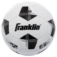 463912846 Product Image Franklin Sports Competition 100 Soccer Ball, Size 4, Black  and White