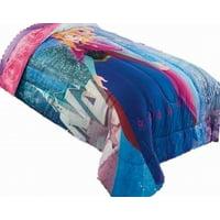 Disney Frozen Comforter Twin Bed Reversible Anna and Elsa Pattern