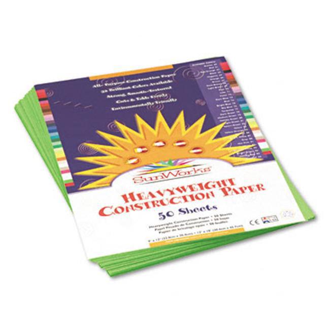 6317 50-Count Black 18 x 24 Pacon SunWorks Construction Paper