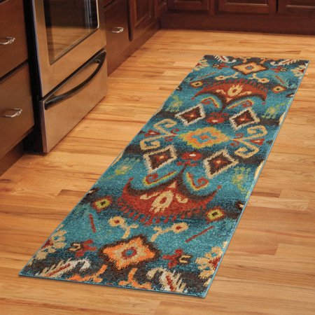 Orian Rugs Bright Color Southwest Aztec Eastern Tradition