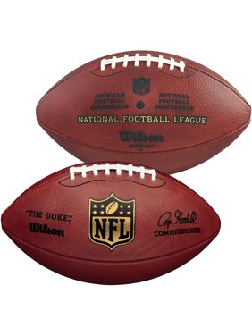 "Wilson ""The Duke"" Official NFL Leather Football - Fanatics Authentic Certified"
