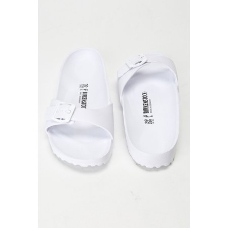64dbd6d0a17 Birkenstock Rubber Slippers in White - image 1 of ...