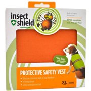 Insect Shield Protective Safety Vest XL, Orange