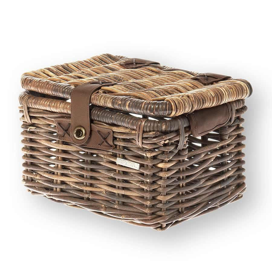 Basil, Denton S Basket Nat Rattan w/lid 13060 (hware not incl)