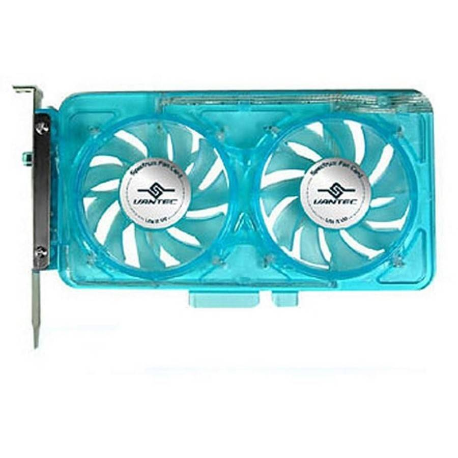 Vantec SP-FC70-BL UV LED Fan Card, Blue