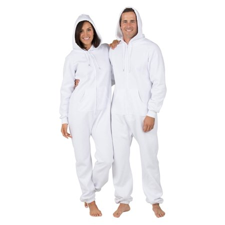 f0288f96c Footed Pajamas - Footed Pajamas - White Frosting Adult Footless ...