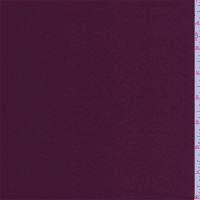 Mulberry Purple Satin, Fabric By the Yard