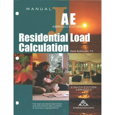 Residential Load Calculation Manual