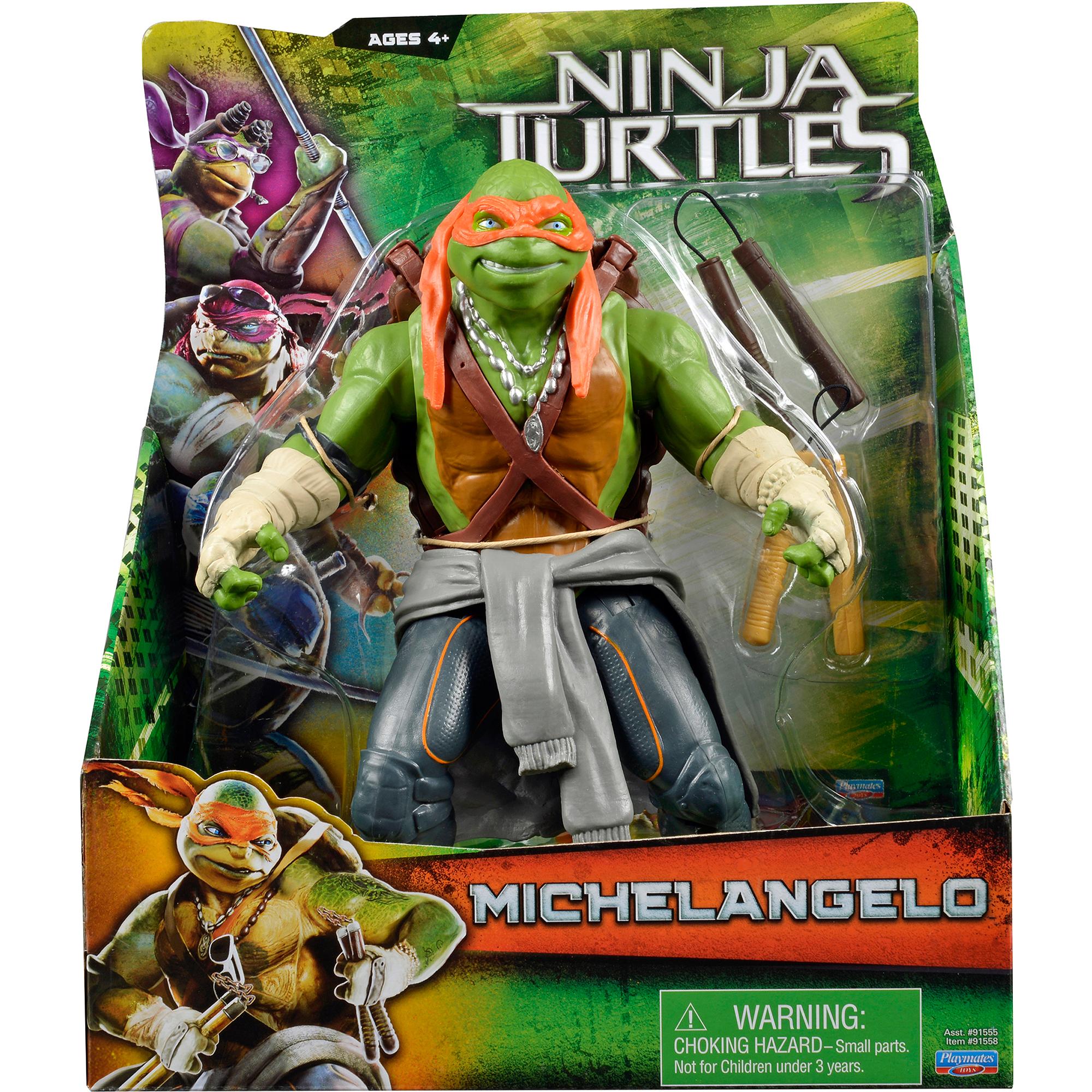 """Teenage Mutant Ninja Turtles Movie 11"""" Mike Action Figure"""