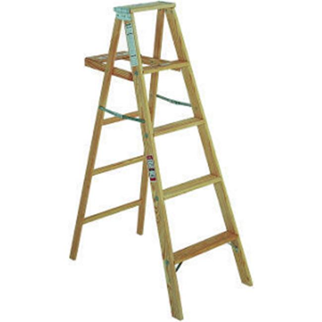 Michigan Ladder 110004 4 ft Michigan Household Wood Step Ladder