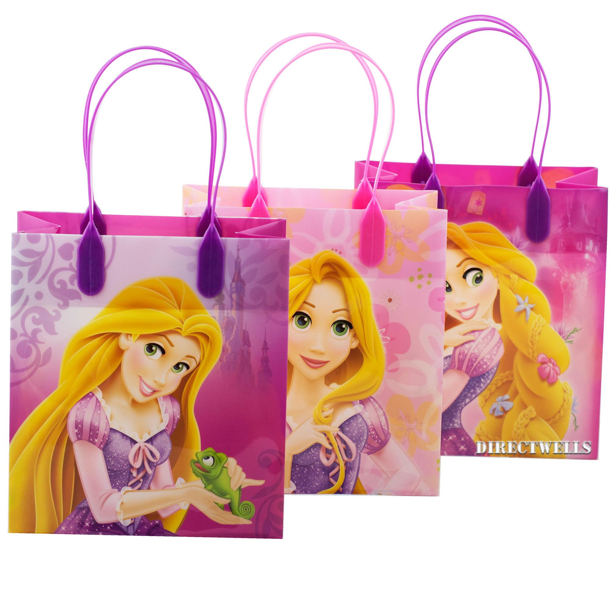 Disney Princess Rapunzel 12 Party Favor Reusable Goodie Small Gift Bags