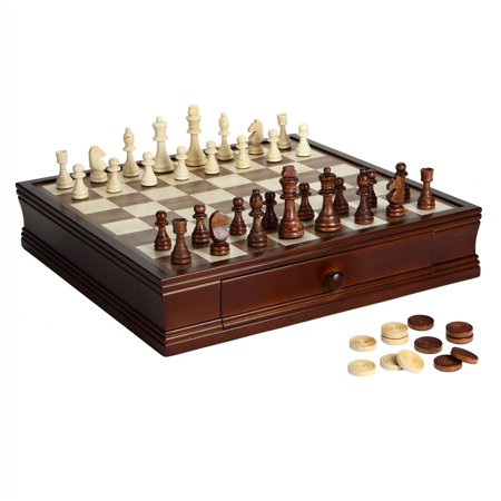 Prodigy Wood Chess & Checkers Set ()
