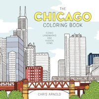 The Chicago Coloring Book (Paperback)