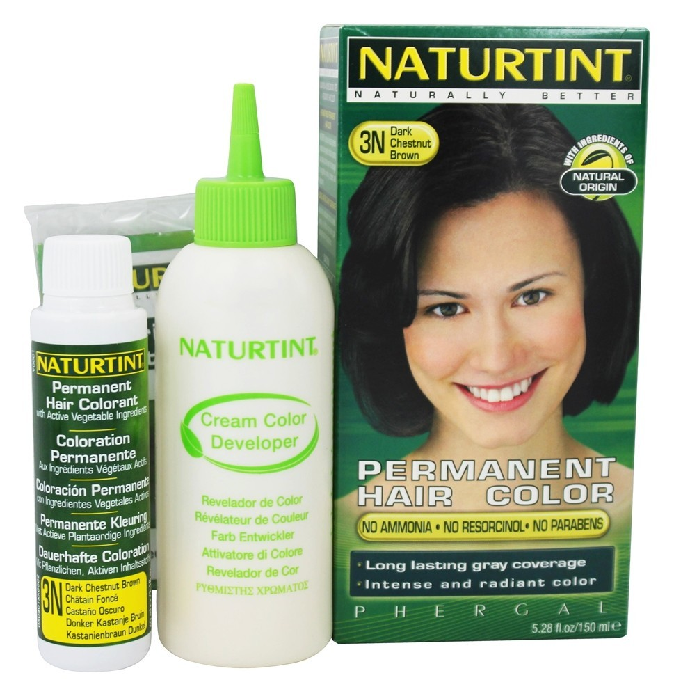 Naturtint Permanent Hair Color, Dark Chestnut Brown 3N