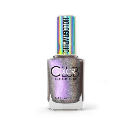 Color Club Holographic Nail Polish, Bewtiched - Really Easy Halloween Nails