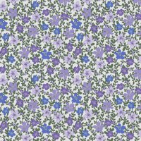 "David Textiles Ivy's Flowers 44"" Cotton Fabric"
