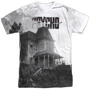 1960 Myster Horror Movie Bates House Poster Adult Front Print T-Shirt