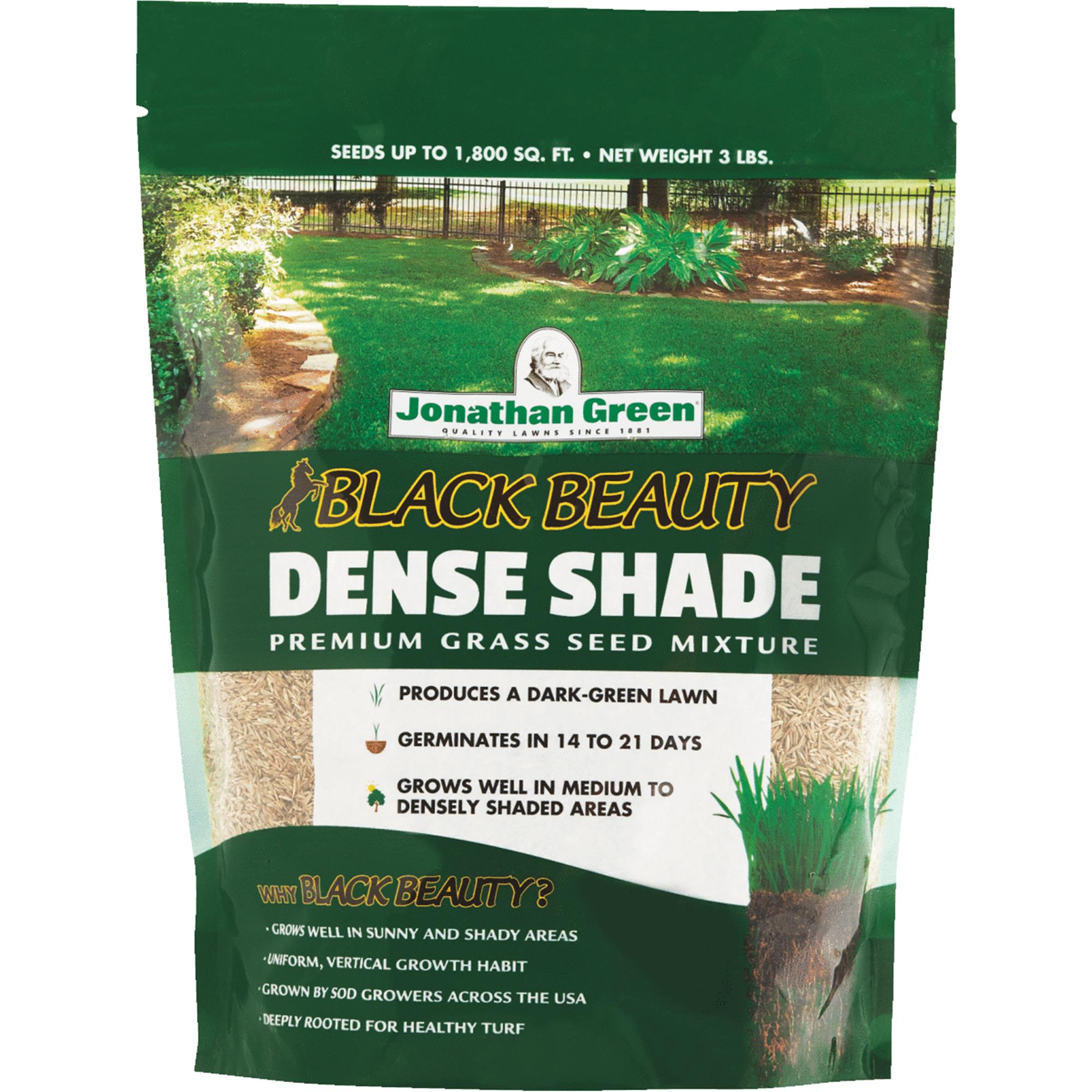Jonathan Green Black Beauty Dense Shade Grass Seed Mixture