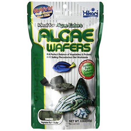 Hikari Algae Wafers Sinking Fish Food, 8.8 Oz
