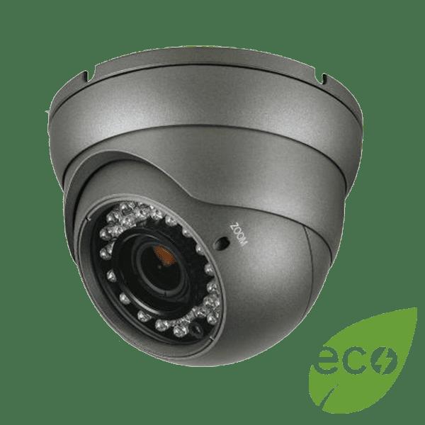 CMHT2023AB eco - Platinum HD-TVI Turret Camera 2.1MP - Black
