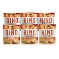 RIND Snacks Superfruit Snack, Sweet Persimmon, Tart Apple, Tangy Peach, 1.5oz, Pack of 6