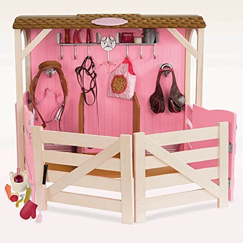 our generation horse barn stable and accessories set for 18 inch rh walmart com