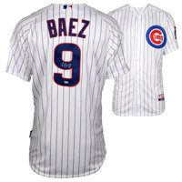 Javier Baez Chicago Cubs Fanatics Authentic Autographed Majestic Authentic White Jersey - No Size
