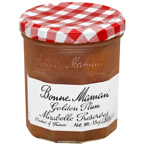 Bonne Maman Golden Plum Mirabelle Preserves, 13 oz, (Pack of 6) by BONNE MAMAN