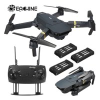 Grtxinshu Eachine E58 6 Axis 2MP RC Drone RTF WIFI FPV Wide Angle Camera High Hold Mode Foldable Quadcopter Kids Christmas Birthday Toy Gifts