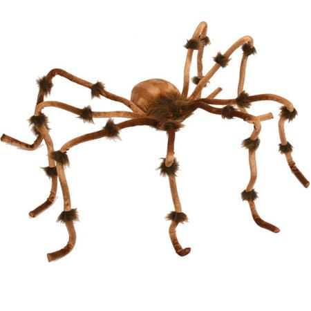 Fun World Plush Brown Spider for $<!---->