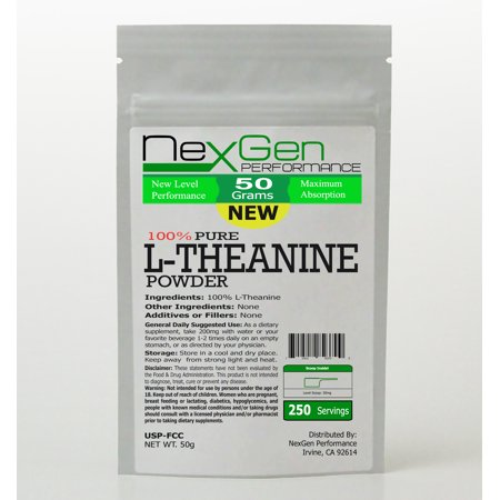 L-Theanine Powder 50g - Energy - Stress Anxiety - Mood Enhancer