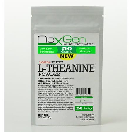 L-Theanine Powder 50g - Energy - Stress Anxiety - Mood Enhancer ()