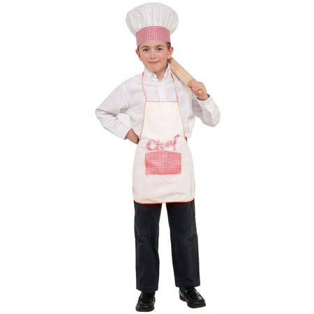 Child Chef Hat and Apron Set](Costume Chef Hat)