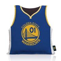 Golden State Warriors 16'' x 16'' Big League Jersey Pillow - No Size