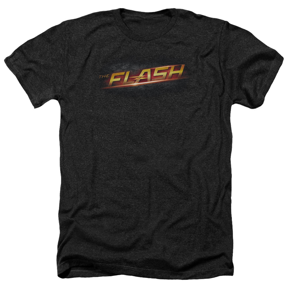 The Flash Logo Mens Heather Shirt
