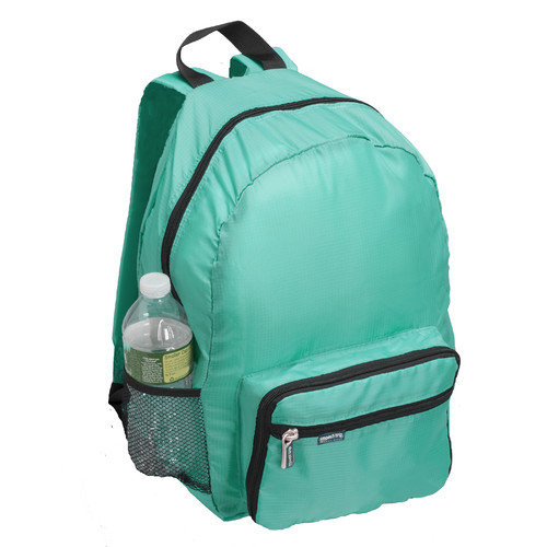 Smooth Trip Folding Backpack in Teal