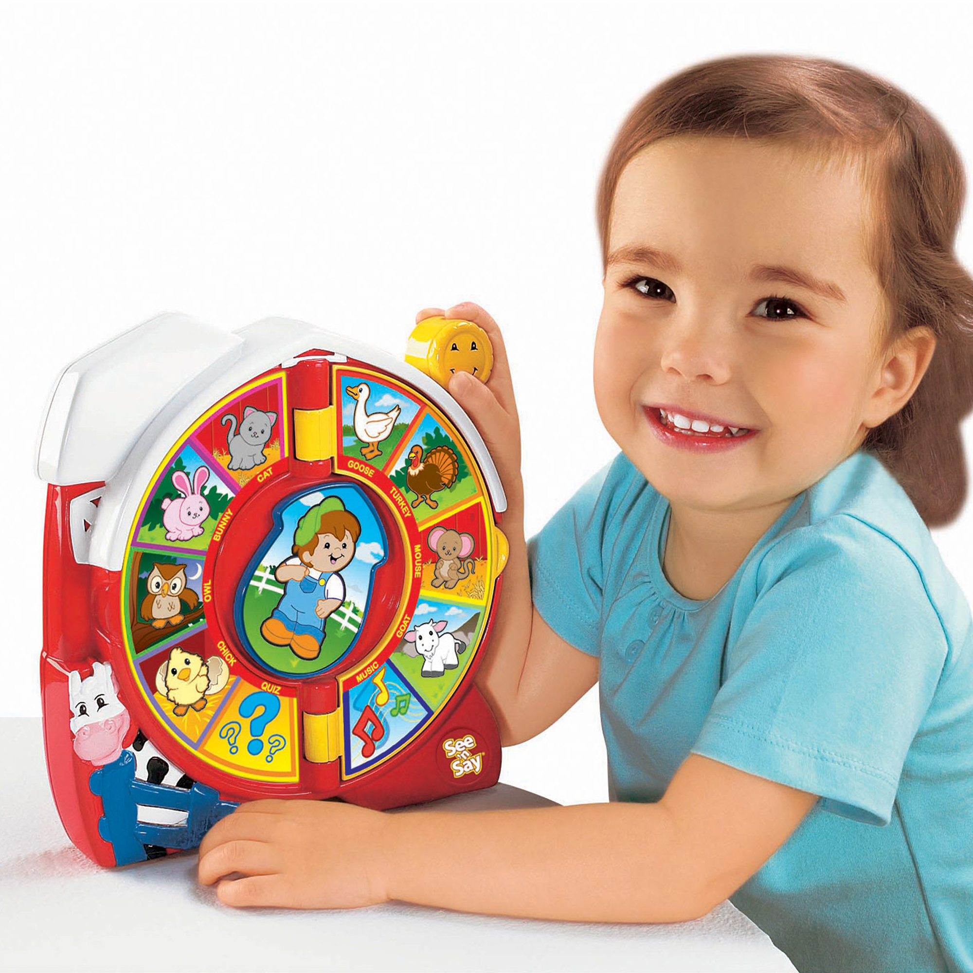 Fisher Price See N Say The Farmer Says Toy Walmart Com Walmart Com