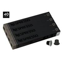 Nespresso OriginalLine Espresso Capsules, Roma - 40 Count