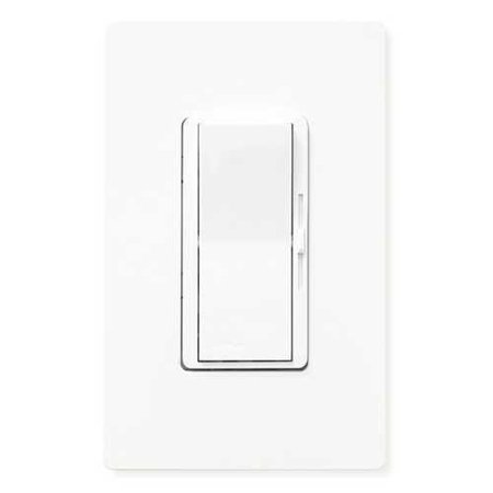 - Lutron - DVELV-300PH-WH White Diva® 1-Pole Paddle Electronic Low Voltage Dimmer, 300W Max Capacity