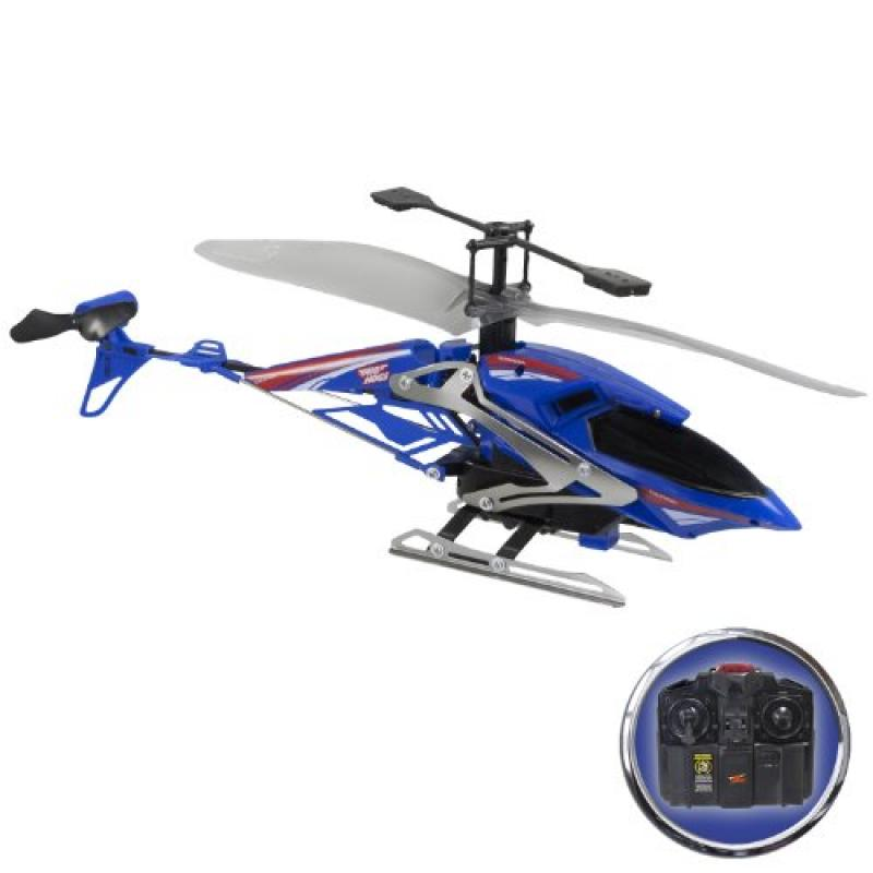 Air Hogs RC Gyroblade, Blue/Red 3 Channel Helicopter