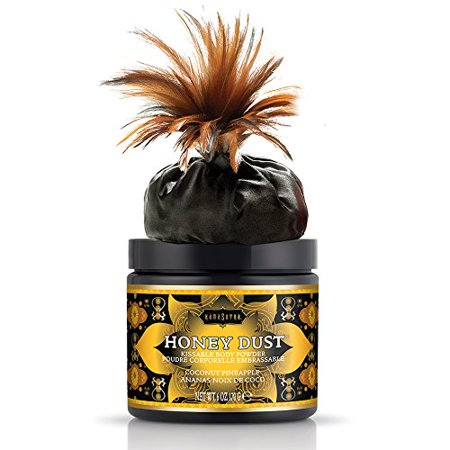 Kama Sutra Sweet Honeysuckle Honey (kama sutra honey dust coconut pineapple 6 oz 170)