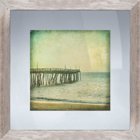 PTM Images Coastal I Framed Photographic Print