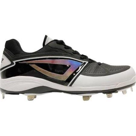 3N2 6238-01-125 Lo-Pro Baseball Cleat, Black - Size 12.5 - image 1 de 1