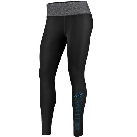 Carolina Panthers NFL Pro Line by Fanatics Branded Women's Color Blast Leggings - Black/Heathered Gray