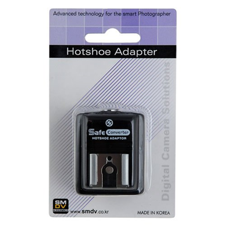 SMDV Hot Shoe Safe Sync Adapter SM-512 for Olympus E-400, E-410, E-420, E-450, E-510, E-520, E-620, SP-57DUZ, SP-560EZ, SP-550EZ, SP-510EZ, PEN E-PL1s, E-PL2, E-PL3, E-P2, E-P3, E-M, OM-D E-M5 Fully C