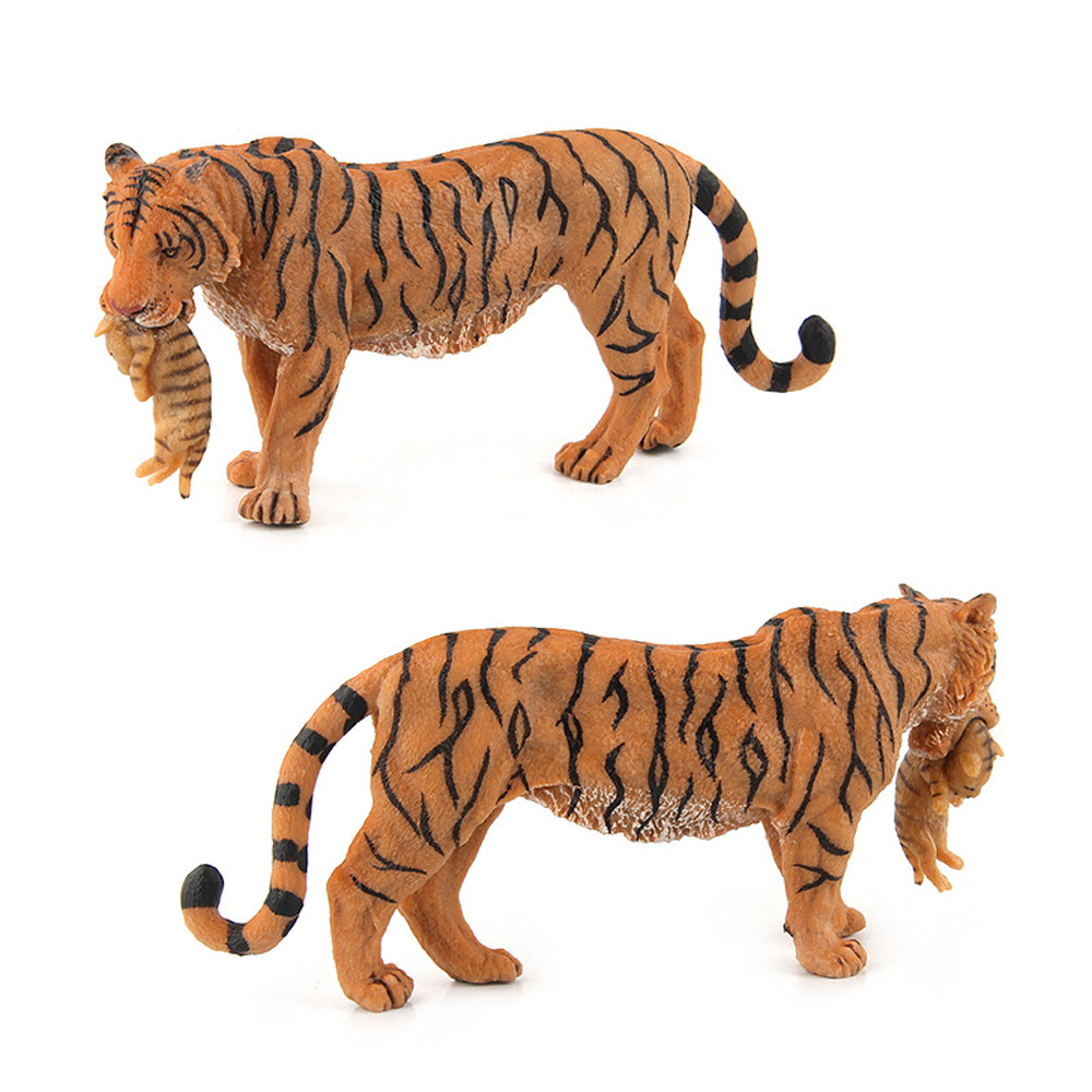 Womail Educational Simulated Tiger Model Children Toy Animal Gifts For Childrens